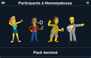 Participants à Homerpalooza