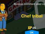 Chef tribal