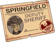 Licence de shérif