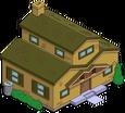 Maison marron originelle