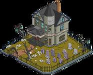 Maison sur la colline terrifiante