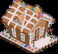 Maison en pain d'épices (décoration)