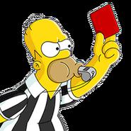 Joueur Homer Arbitre