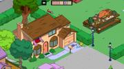 Maison des Simpson Maggie