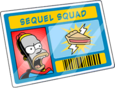 Carte de membre Sequel Squad