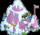 Base dans volcan de Noël