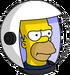 HomerAstronaute Ennuyé