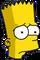 Bart Triste Icon