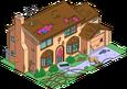 Maison des Simpson ravagée