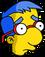 Milhouse-garou Triste
