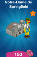 Notre-Dame de Springfield Offre