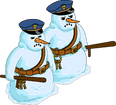 Vigile de neige