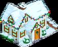 Maison blanche de Noël