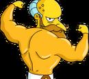 M. Burns le nouveau dieu