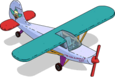 Avion de Krusty