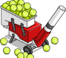 Machine lance-balles de tennis