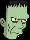Monstre de Frankenstein Ennuyé
