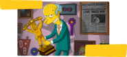 Simpsons Wrestling End Screen
