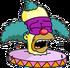 Face de Clown Pleurant