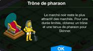 Trône de pharaon Boutique
