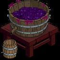 Cuve à piétiner le raisin