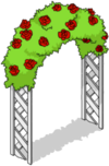 Arche de roses