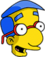 Milhouse excité Icon