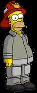 Homer Pompier Menu