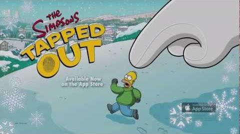 Les Simpson Springfield - Événement de Noël 2012