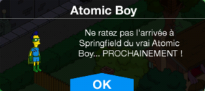 MessageAtomic Boy