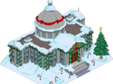 Manoir de Burns de Noël