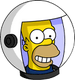 HomerAstronaute Content