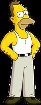Jeune Grand-père Simpson
