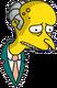 M. Burns Triste