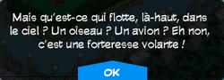 Message forteresse