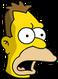 Jeune Grand-père Simpson Surpris