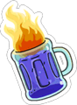 Flaming Moe Icon