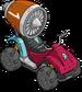 Moto à turboréacteur