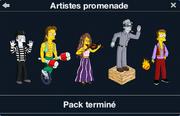 Artistes promenade
