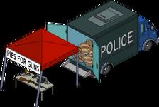 Stand tartes contre fusils