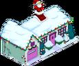 Maison des Wiggum de Noël