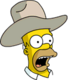 HomerCowboy Surpris