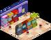 Mur de bornes d'arcade