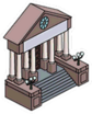 Salle des archives de Springfield Icon