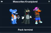 Mascottes Krustyland