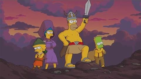 """The Simpsons Tapped Out –""""Preparing for War"""" Trailer 2014"""