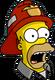 HomerPompier Surpris