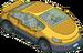 Voiture électrique jaune