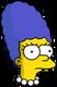 Marge bébé Triste
