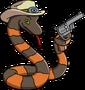 Serpent de western